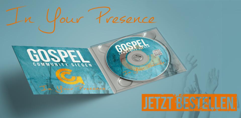 CD jetzt bestellen: In your presence